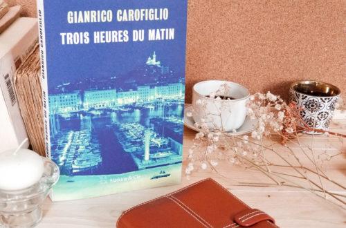 Blog litteraire - Gianrico Carofiglio