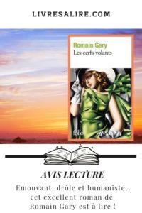 Blog littéraire avis lecture Romain Gary - Les Cerfs-Volants