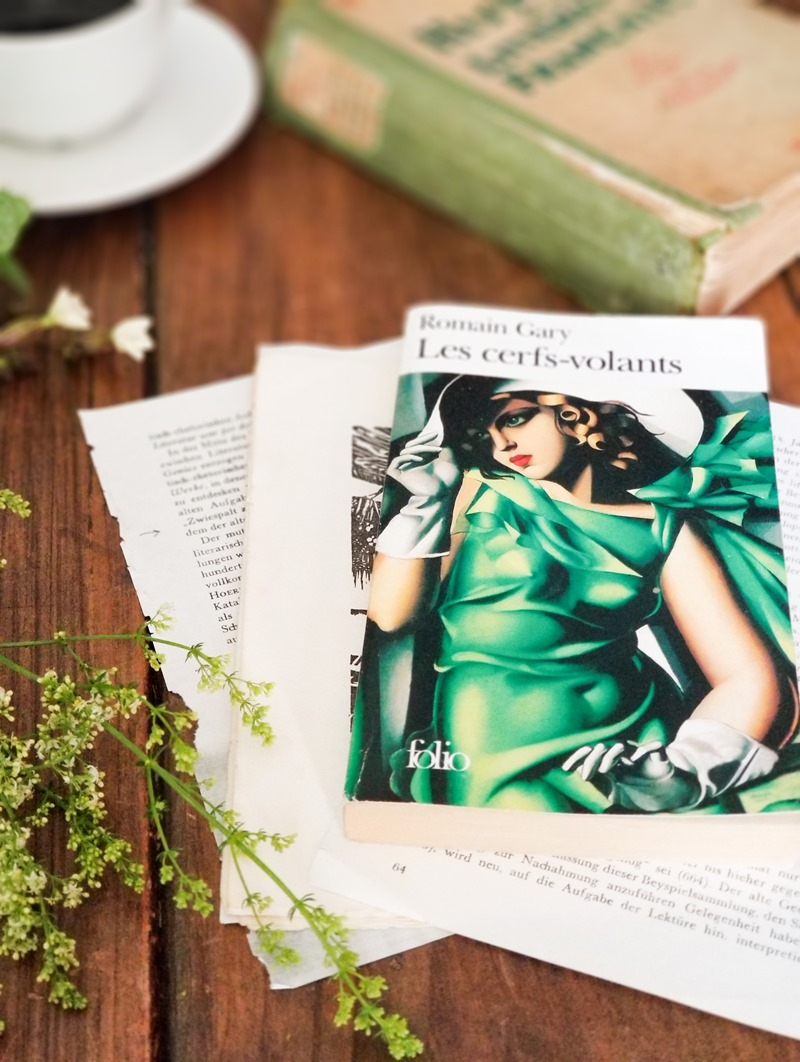 Lire Romain Gary - les cerfs-volants