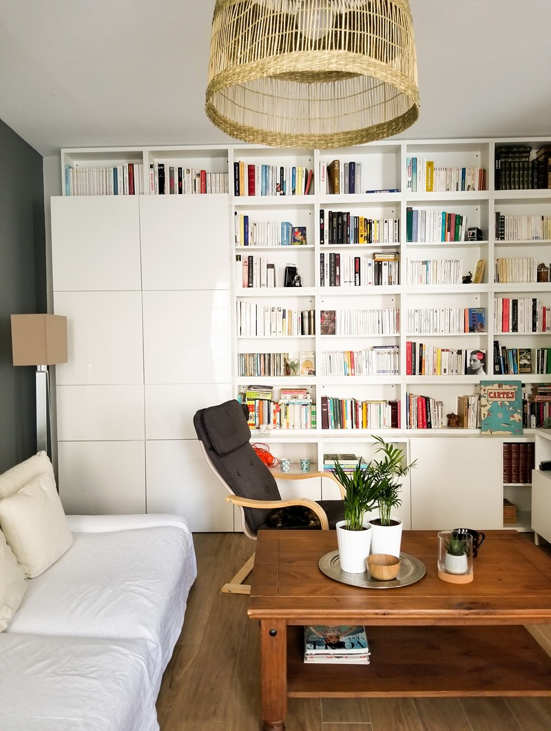 Blog littéraire - ranger bibliothèque